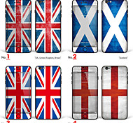 "iPhone 6/6S Body Art Skin Sticker: ""UK, United Kingdom, Britain, Scotland, England"" (Flags Series)"