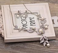brincos de cristal de noiva do casamento da dama de honra colar conjuntos de jóias