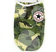 Dog Vest Camouflage Color Summer / Spring/Fall Camouflage Fashion, Dog Clothes / Dog Clothing-Pething®