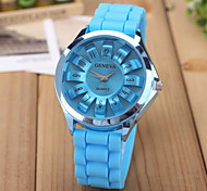 Petal Jelly Candy Color Silicone Casual Watch Cool Watches Unique Watches Fashion Watch