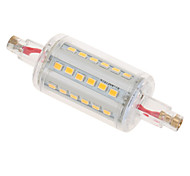 1 pcs YWXLIGHT R7S 7W 78mm 36 SMD 2835 630 lm Warm White / Cool White T Decorative LED Corn Lights AC 85-265 V