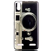 Camera Pattern TPU Phone Case for Lenovo A6000