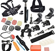 28 Accessori GoProMontaggio / Monopiede / Con bretelle / Vite / Boje / Accessori Kit / Clip / Dispositivo anti-nebbia / Casco /