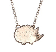 Japan And South Korea Cute Little Animal Hedgehog Fashion Simple Necklace