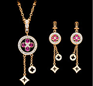 May Polly  Hot Fashion Necklace Earrings Set
