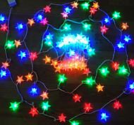 König ro 100LED 8-Modus Sternform Weihnachtsdekoration wasserdichte Schnurlicht (kl00010-rgb, weiß, warmweiß)