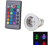 3W E26/E27 Bombillas LED Inteligentes T 1 LED Integrado 100-200 lm RGB Decorativa AC 85-265 V 1 pieza