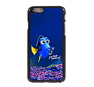 Keep Swimming pattern Aluminum Hard Case for iPhone 6/6S