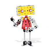 Robot Mr. Q 3D Puzzles Magical Alloy Model DIY Toys Modeling Toys