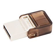 OTG original de Kingston 32gb micro-USB y USB 2.0 (dtduo) unidad flash USB teléfono inteligente + PC de la tableta