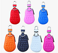 Crocodile Grain Gourd Car Keys Bag / Mini Creative Stickers Diamond Top Car With A Key Bag For Men And Women