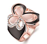 Ring Schmuck vergoldet Rose Gold überzogen 18K Gold Klassisch Gold Rose Schmuck Hochzeit Party Halloween Alltag Normal Sport 1 Stück