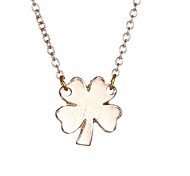South Korea Lucky Clover Fashion Necklace