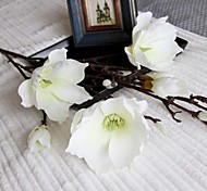 "44.1""H High Quality Artificial Magnolia Denudata Floral Design for Home Decor 1pc/set"