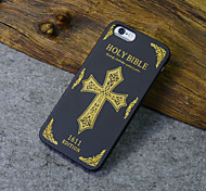 Black Wood iphone Case Holy Bible 1611 Latin Cross Religion Hard Back Cover for iPhone 5s/iphone 5