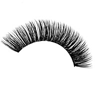 Artistic Exaggeration Handmade 100% Real Mink Fur Lashes C Curl 15mm for Eyelash Extension with Free iBeautiful Sample