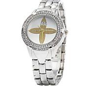 Women Diamond Petal Pattern Quartz Watch Cool Watches Unique Watches