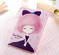 Little Girl Series Seven PU Leather Full Body Case With Stand for iPad Mini 3/2/1