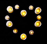 12 pcs LED Candles Set for Birthday Christmas Party 6 Small 6 Large Candles