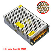 JIAWEN AC110V/ 220V to DC 24V 10A 240W Transformer Switching Power Supply