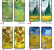 "iPhone 6 Plus/6S Plus Body Art Skin Sticker: ""Works by Vincent van Gogh (Part 3 of 3)"" (Masterpieces Series)"