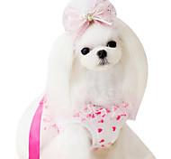 Dog Harnesses Adjustable/Retractable Green / Blue / Pink Nylon