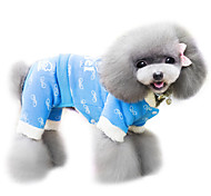 Dog Coat Blue / Pink Dog Clothes Spring/Fall Fashion