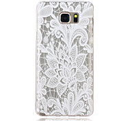 Lace Rose Pattern TPU Material Phone Case for Samsung Galaxy Note 5/4/3