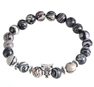 As Kurata Natural Stone Bracelet Charm Bracelets Daily / Casual 1pc
