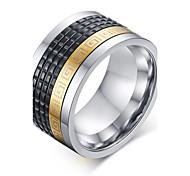 Муж. Массивные кольца бижутерия Агат Титановая сталь Бижутерия Назначение Свадьба Для вечеринок Повседневные Спорт Новогодние подарки