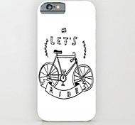 Let's Ride Bike PC Hard Back Case Cover for iPhone6/6S