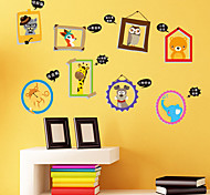 Animal Frame Wall Stickers