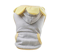 Dog Shirt / T-Shirt Gray Dog Clothes Spring/Fall Fashion