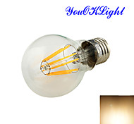 YouOKLight®  E27 8xCOB 8W 750LM 3000K Warm White Globe Bulbs Edison LED Filament Light(100-120/220-240/85-265V)
