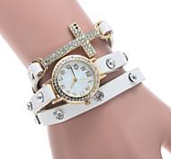 Cross Diamond Watch Ms. Windings