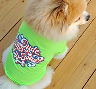Comfortable Candy Color Pet T-shirt