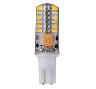 Luces LED de Doble Pin Decorativa YWXLIGHT T T10 3W 48 SMD 3014 270 lm Blanco Cálido / Blanco Fresco DC 12 / AC 12 / AC 24 / DC 24 V1