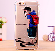 Hip Hop boy Design Cover for IPhone 6 Iphone6S