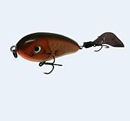 """Esche rigide 1 pc,27.5 g/1 Oncia,70 mm/2-3/4"""" pollice Marrone Plastica duraPesca di mare / Pesca a mosca / Pesca a mulinello / Pesca a"""