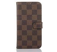 новейший флип кейс кейс поддержка решетки бумажник простой пу мобильный телефон оболочки для Samsung s7 / s7edge ассорти цветов