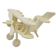 Пазлы 3D пазлы Деревянные пазлы Строительные блоки Игрушки своими руками Летательный аппарат Дерево