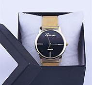 nouvelles dames de mode montres alliage acier inoxydable quartz analogique femmes hommes relogio occasionnels montre-bracelet