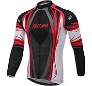 XINTOWN Outdoor Short Sleeve Long Wear Cycling Jersey Bike Jersey for Mountain Bike Riding Racing