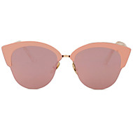 Sunglasses Men / Women / Unisex's Elegant / Retro/Vintage / Fashion Cat-eye Black / Silver / Yellow / Gold / Pink / Blue Sunglasses