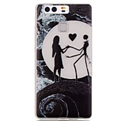 Luminous Night Waves Of The Sea People TPU Soft Case for Huawei Ascend P9