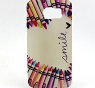 Pencil Love Painted TPU Phone Case for Galaxy S7/S7edge/S7plus