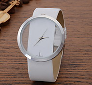 Women's Ladies Fashion Quartz Watch Leather Band Strap Watch Cool Watches Unique Watches
