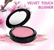 Red&Black Velvet Touch Blusher Powder Bright Natural Smooth 12g