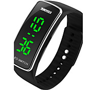 Unisex Fashion LED Digital Silicone Band Sports Watch