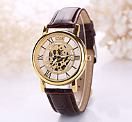 Unisex Skeleton Watch Fashion Trends Hollow Belt Quartz Watch Men And Women  (Assorted Colors) Cool Watches Unique Watches